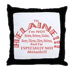 I'm Helaine 2 Throw Pillow