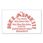 I'm Helaine 2 Sticker (Rectangle)