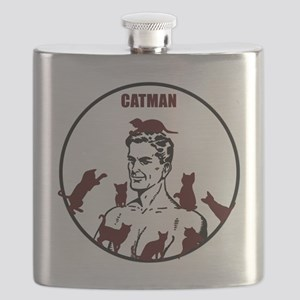 The Crazy CatMan Flask