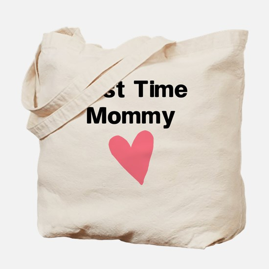 Cute First Time Mommy Tote Bag