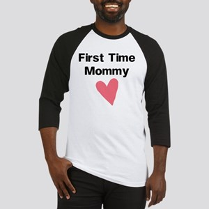 Cute First Time Mommy Baseball Jersey