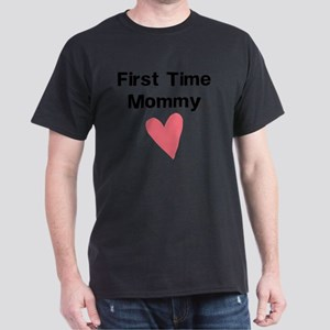Cute First Time Mommy Dark T-Shirt