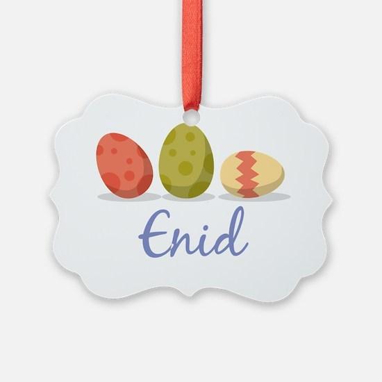 Easter Egg Enid Ornament