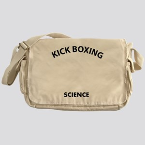 Kick Boxing the real sweet science Messenger Bag