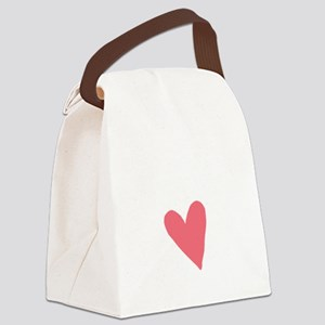 Cute First Time Mommy Canvas Lunch Bag