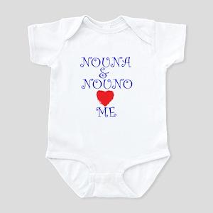 NOUNA AND NOUNO LOVE ME Infant Bodysuit