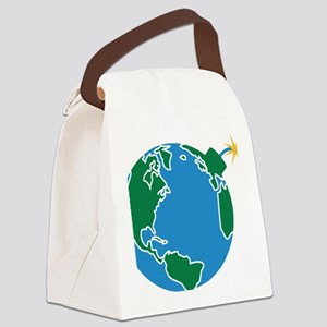 explosive_earth Canvas Lunch Bag