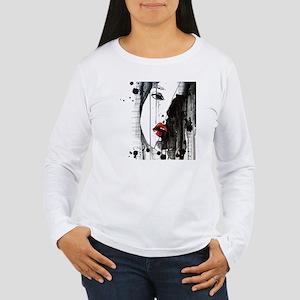 Sexy Woman Watercolor  Women's Long Sleeve T-Shirt