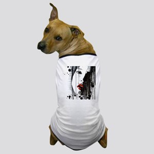 Sexy Woman Watercolor Painting Dog T-Shirt