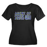 Agent of Status Quo Women's Plus Size Scoop Neck D