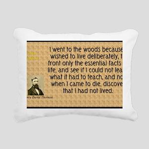 Walden Rectangular Canvas Pillow