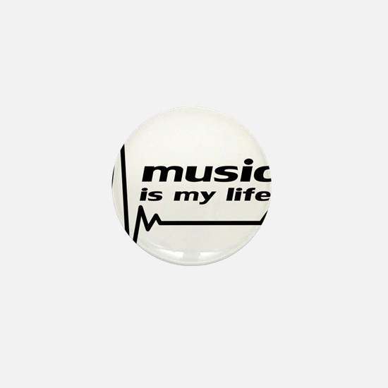 music_is_my_life Mini Button