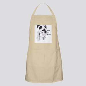 Panda Warrior/Logo Name Apron