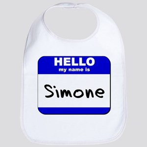 hello my name is simone  Bib