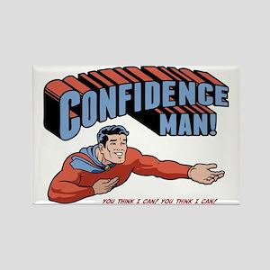 confidence-man2-LTT Rectangle Magnet