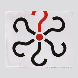 The Power of Punctuation 3 Throw Blanket