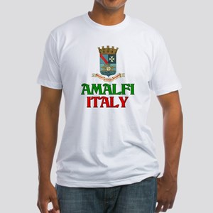 Amalfi Italy Fitted T-Shirt