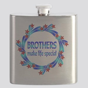 Brothers are Special Flask
