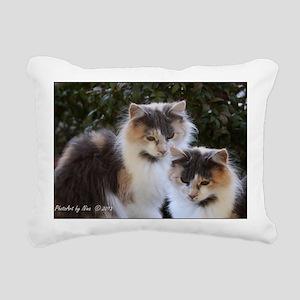 Calico Cats Rectangular Canvas Pillow