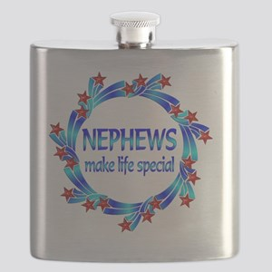 Nephews are Special Flask