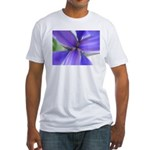 Lavender Iris Fitted T-Shirt