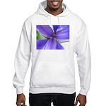 Lavender Iris Hooded Sweatshirt