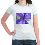 Lavender Iris Jr. Ringer T-Shirt