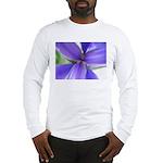 Lavender Iris Long Sleeve T-Shirt