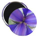 Lavender Iris Magnet