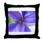 Lavender Iris Throw Pillow