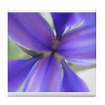 Lavender Iris Tile Coaster