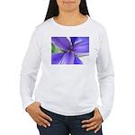 Lavender Iris Women's Long Sleeve T-Shirt