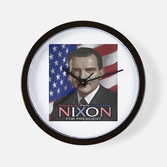 NIXON Wall Clock