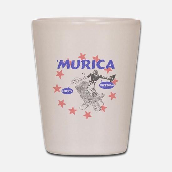 Murica Liberty and Freedom Shot Glass