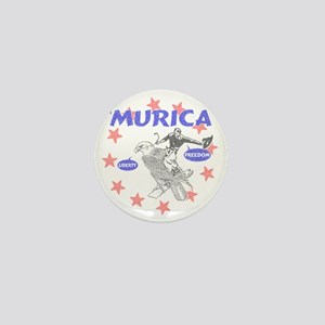 Murica Liberty and Freedom Mini Button