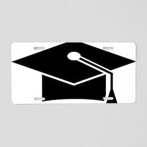 doctoral cap Aluminum License Plate