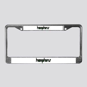 Hamptons License Plate Frame