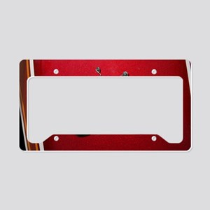Red Motorcycle License Plate Holder
