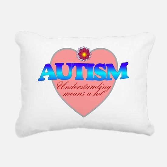 autism understanding Rectangular Canvas Pillow
