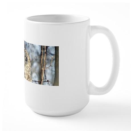 Great Gray Owl Large Mug