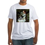 Ophelia - Aussie Cattle Pup Fitted T-Shirt