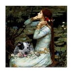 Ophelia - Aussie Cattle Pup Tile Coaster