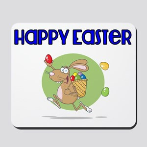 Happy Easter with Easter Bunny Mousepad
