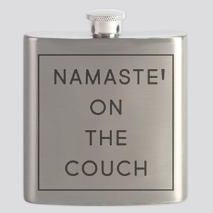 Namaste On The Couch Flask