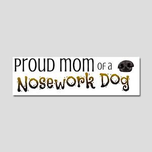 Proud Mom Car Magnet 10 x 3