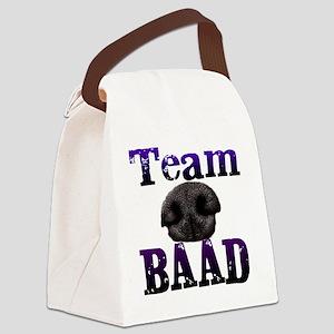 Team Baad Banner Canvas Lunch Bag