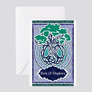 Book of shadows Greeting Cards