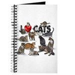 """Journal """"I Love Cats"""""""