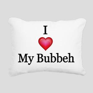 I love my Bubbeh Rectangular Canvas Pillow
