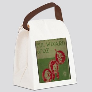 Vintage Wizard of Oz 1899 Canvas Lunch Bag